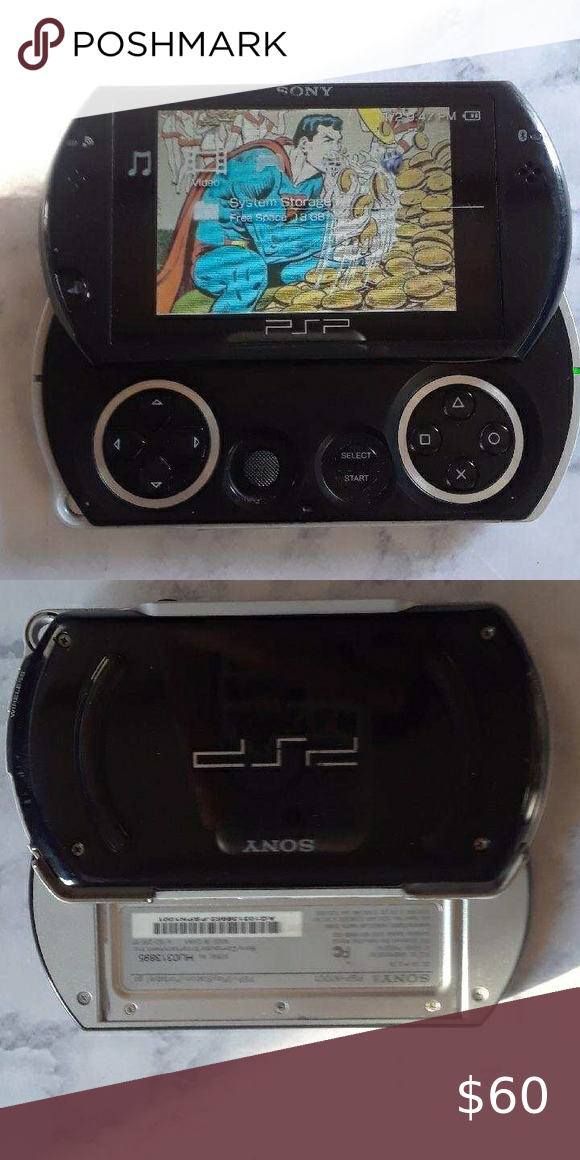 Psp Go Comes With Charger Cord In 2020 Charger Cord Psp Charger