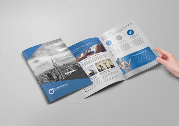 Bi Fold Business Brochure By Cristal Pioneer On Creative Market