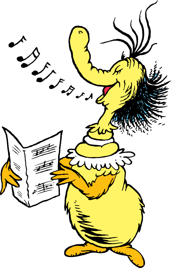 The Singing Thing Dr Seuss Drawings Dr Seuss Illustration Dr Seuss Art