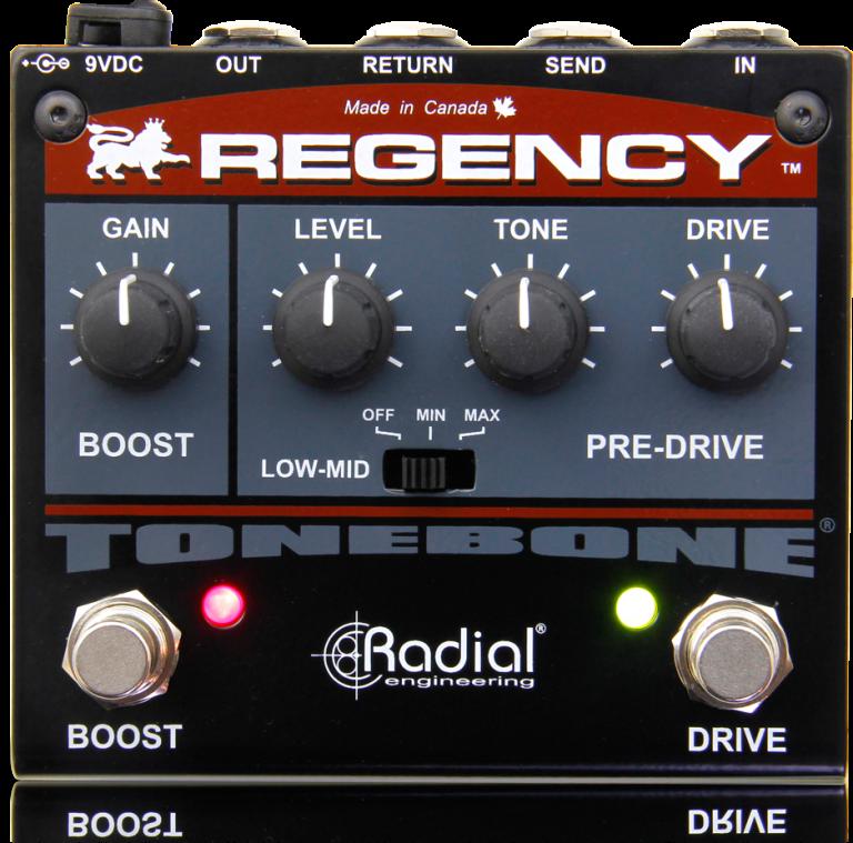 Regency - Radial Engineering | Guitar After the Output Jack