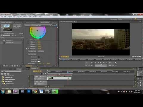 ▷ How to make a Timelapse in Adobe Premiere Pro | GoPro