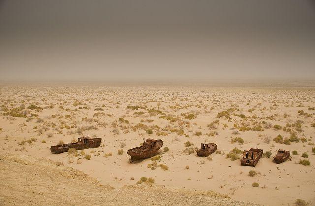 Mo'ynaq – Graveyard of Ships in the Desert ~ Kuriositas
