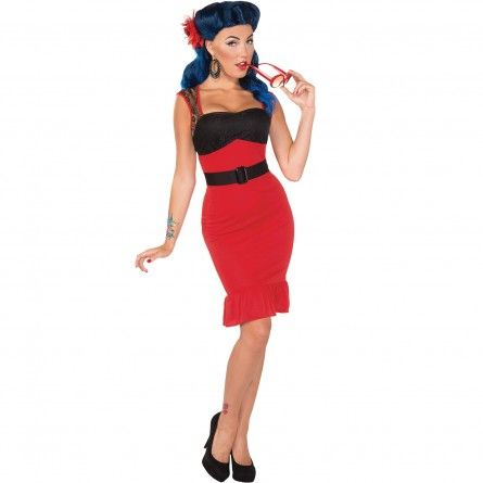 Womens scarlet pin up costume the flirtin fifties pinterest womens scarlet pin up costume solutioingenieria Choice Image