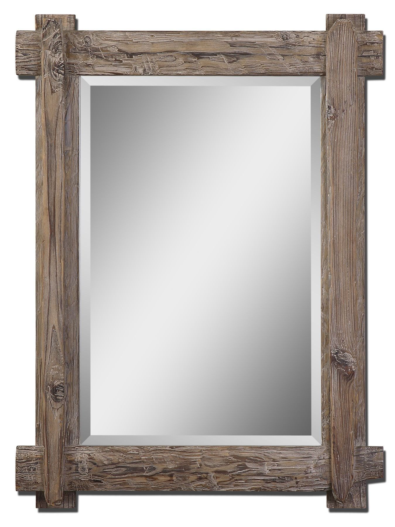 Uttermost Claudio Mirror Rustic Wall Mirrors Wood Framed Mirror Large Wall Mirror