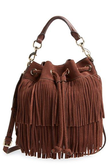 ee4b2ab400 Rebecca+Minkoff+'Fringe+Fiona'+Bucket+Bag+available+at+#Nordstrom ...