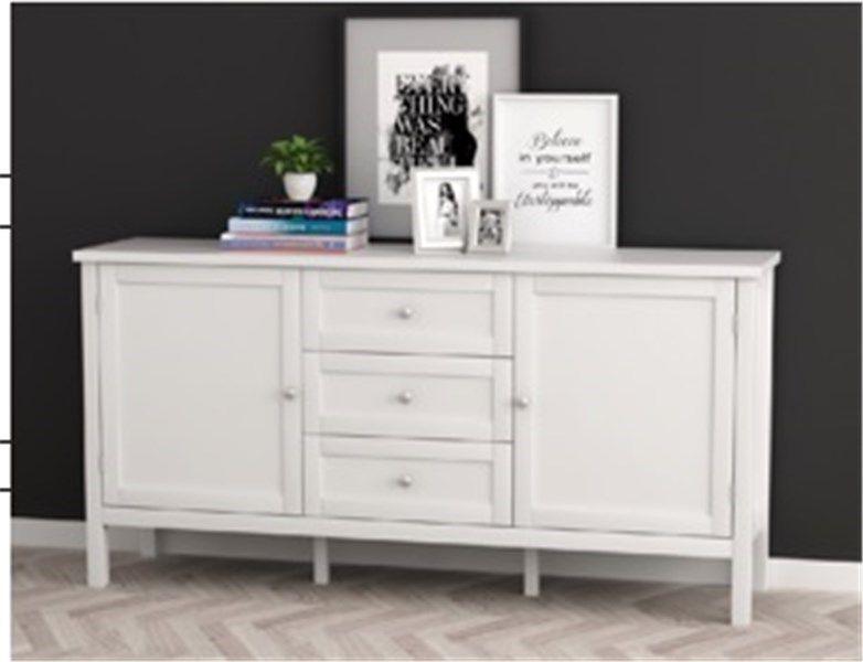 Komoda Etna Biala Stylowa Do Salonu Furniture Home Cabinet