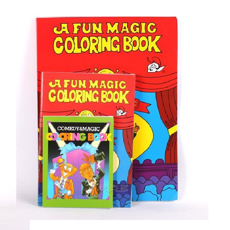Free Shipping Large Size Funny Coloring Book Comedy Magic Books Clo ...