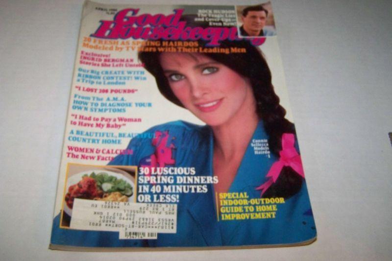 April 1986 Connie Sellecca