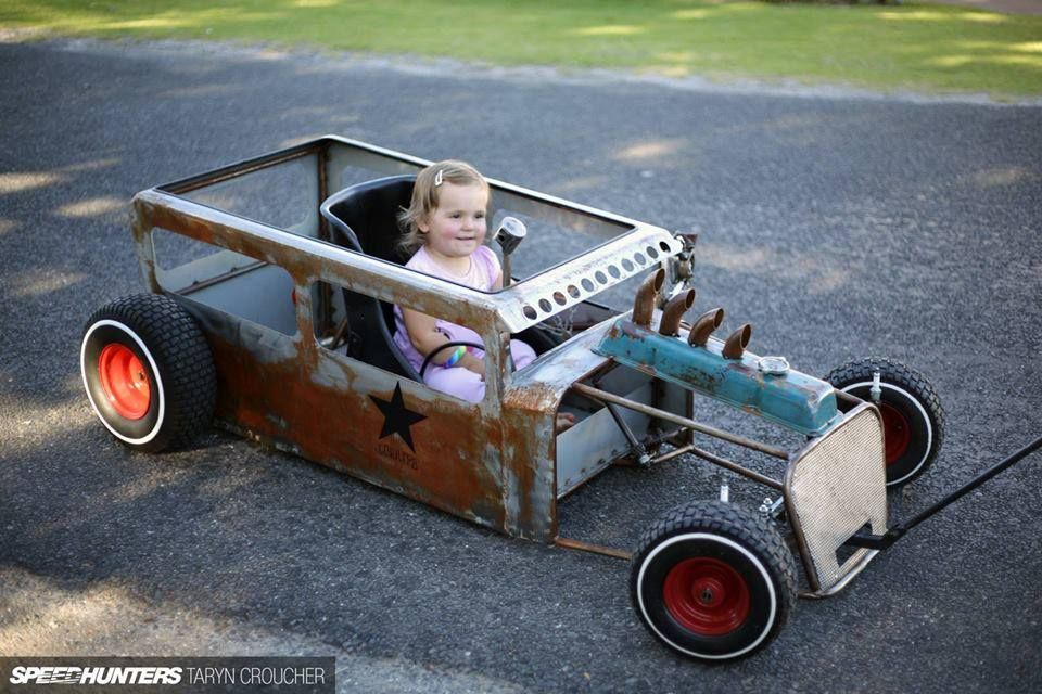 hotrod for kids - i need to build one of these.... badly.   Peddlers ...