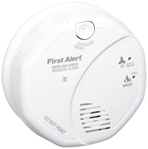 Battery Operated First Alert SCO5CN Combination Smoke and Carbon Monoxide Alarm