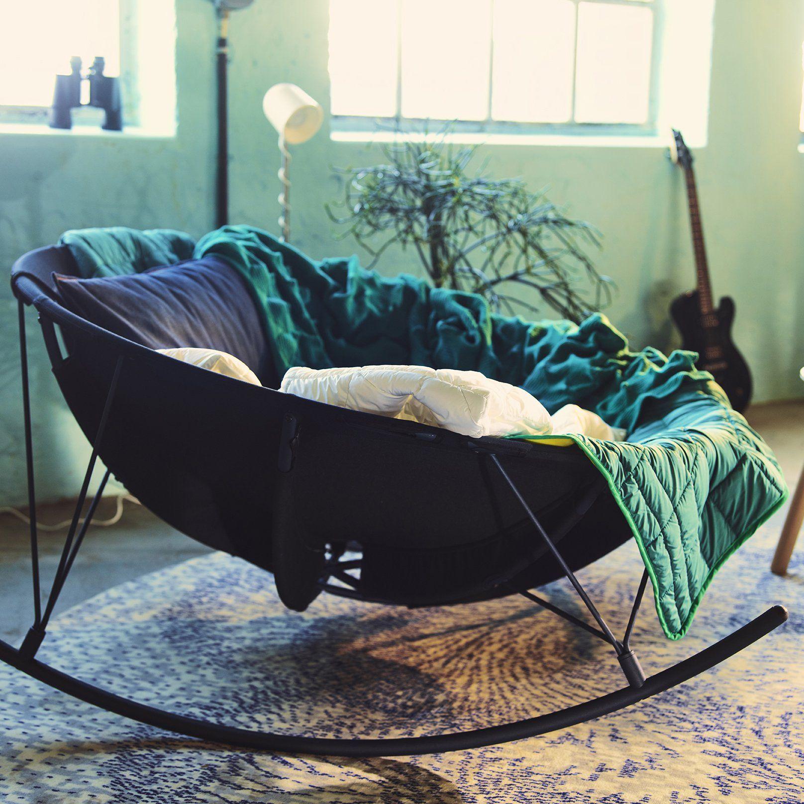 rocking chair ikea rond pour deux personnes pour le cocooning et se dtendre dans un fauteuil - Fauteuil Rond Ikea