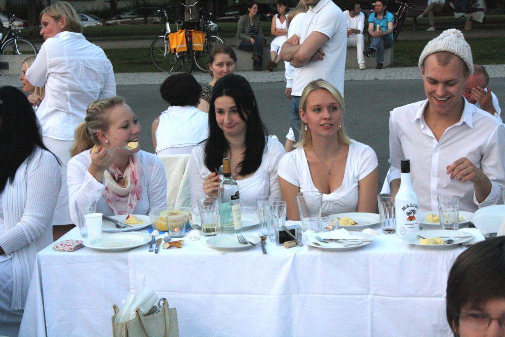 Endlich fertig: Fotos und Rückblick: Le Dîner en Blanc 2012 in Darmstadt