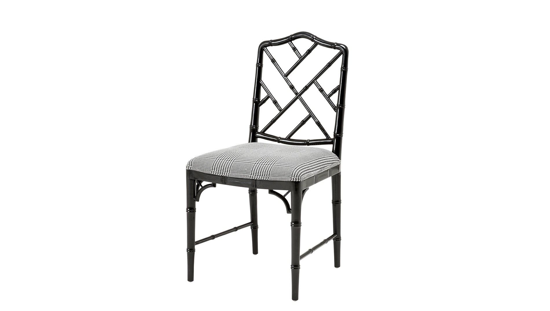 Chinese Chippendale Chairs Uk Hammock Chair Stand Plans Trellis Back And Bamboo Style Framework Eichholtz Infinity Dining Luxdeco Com