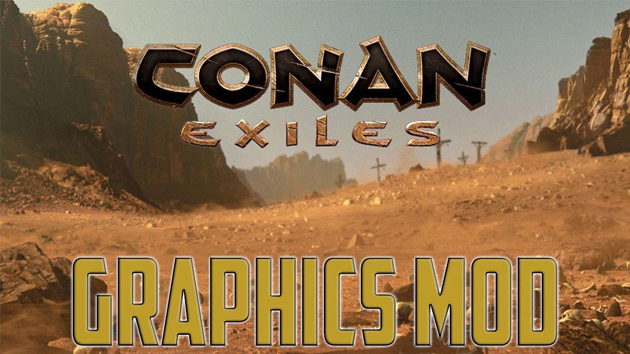 Conan Exiles Graphics Mod – Sharpness HDR Mod Reshade