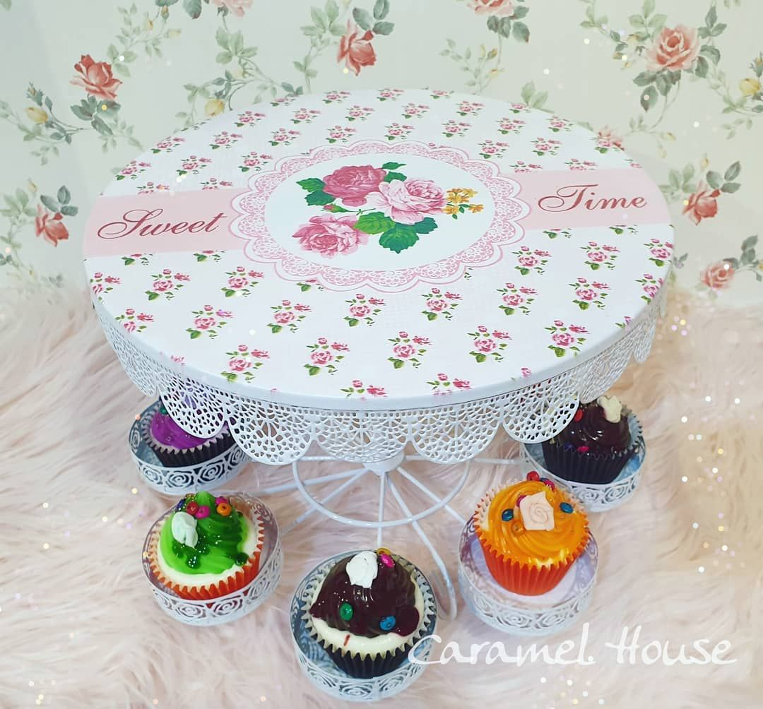 Photo of Cup cake stand with …