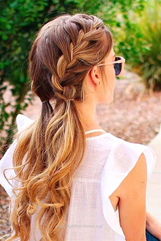 Nice Cute Hairstyles For A First Date See More Glaminati Com The Post Cute Hairstyles For A First Date Hair Styles Long Hair Styles Medium Hair Styles