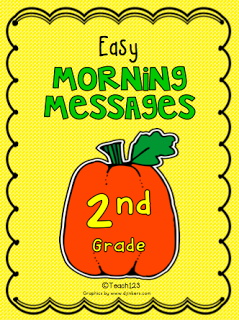 Easy Morning Messages October themes Halloween, fall