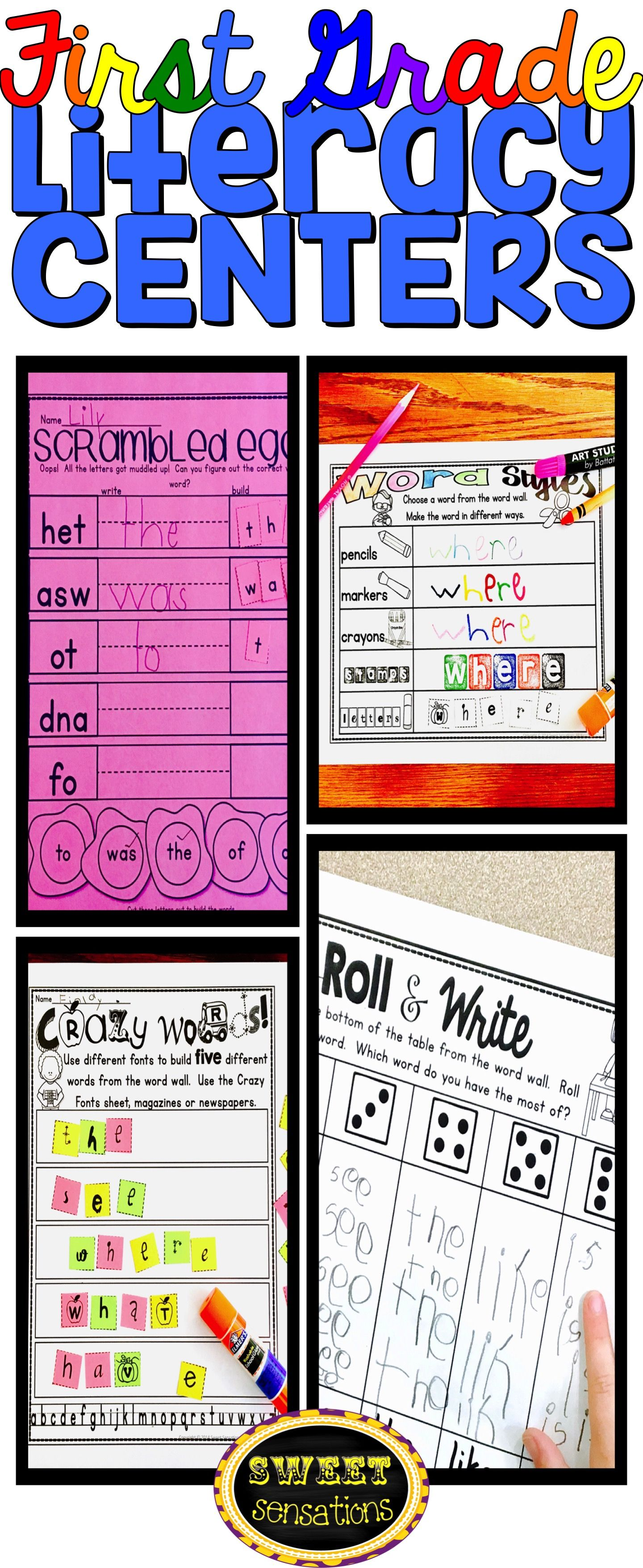 First Grade Word Wall Activities