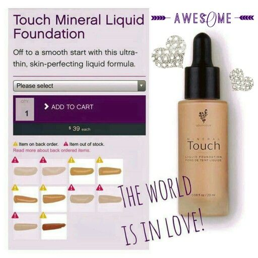 Our Most Popular Foundation Quot Liquid Gold Quot Is Flying Off