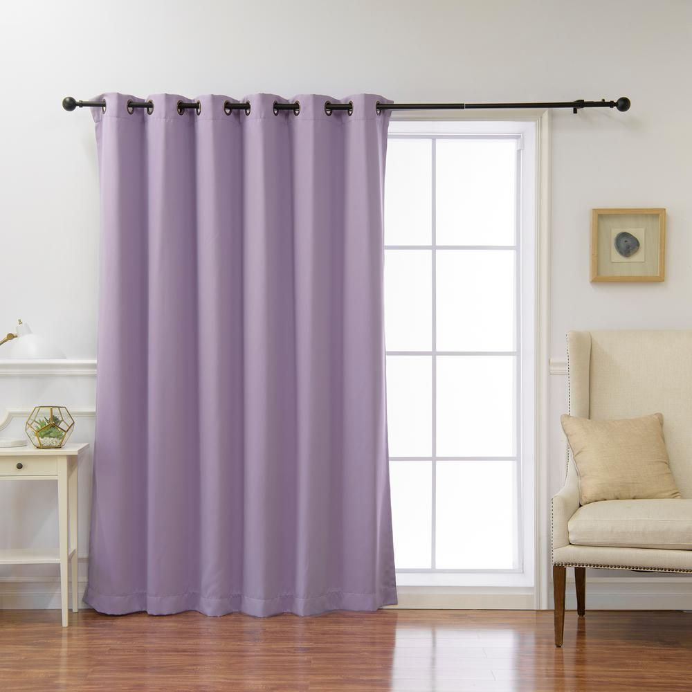 Best Home Fashion Wide Basic 80 In W X 96 In L Blackout Curtain