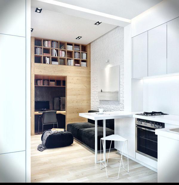 Aménager un petit appartement | interiors small appartment ...