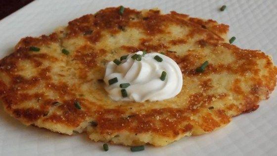 Instant Potato Pancakes Recipe #potatopancakesfrommashedpotatoes