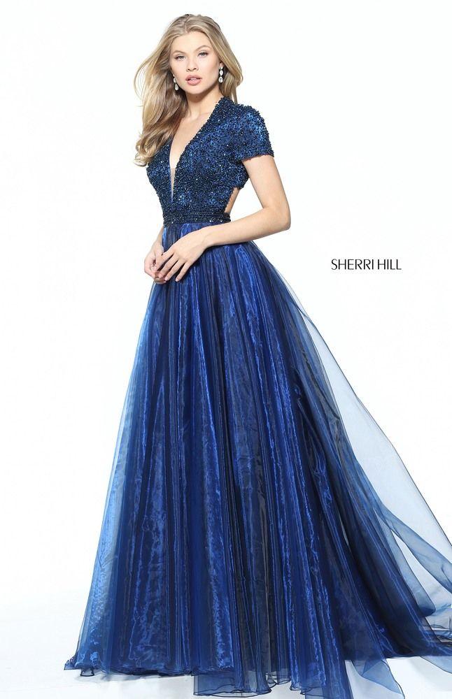 431dd0ccd SHERRI HILL 50976 Vestido Azul