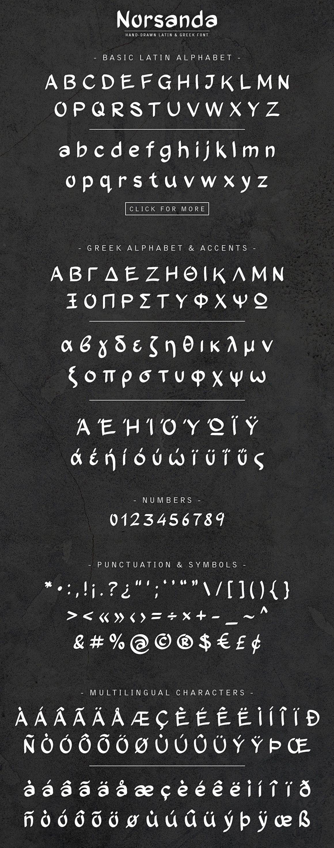 Norsanda Handdrawn Font , Affiliate, CatalanPortuguese