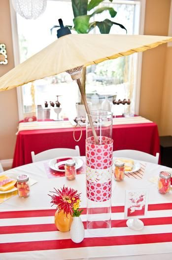 title hostess with the mostess themed bridal showerssummer