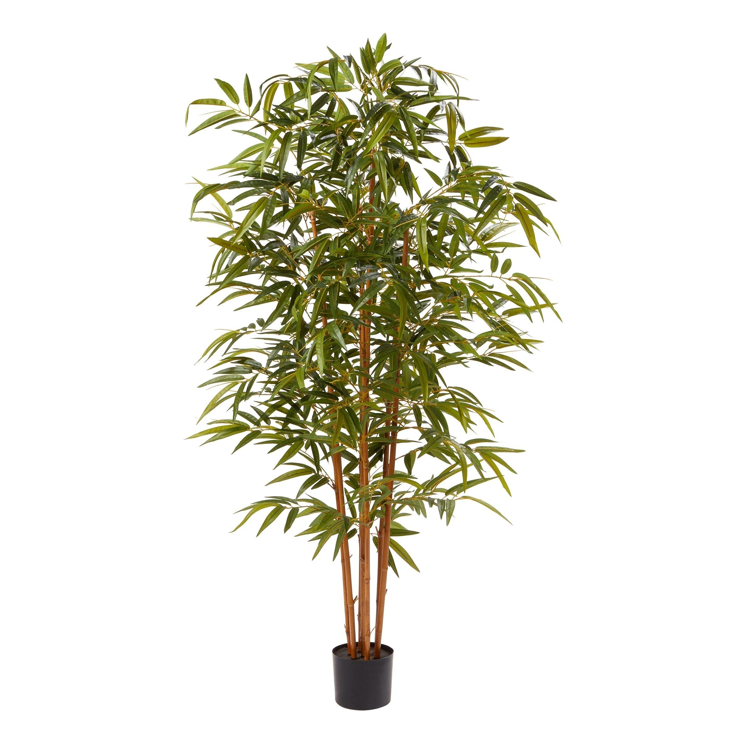 6 Ft Artificial Bamboo Tall Faux Potted Indoor Floor 400 x 300