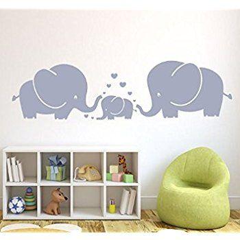 Amazoncom Elephant Bubbles Wall Decal Nursery Decor Baby Baby - Elephant wall decalsamazoncom elephant bubbles wall decal nursery decor baby