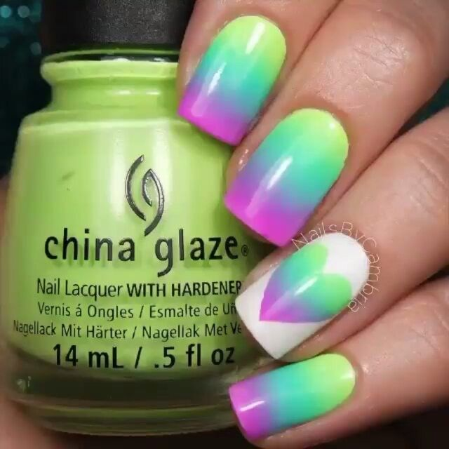 Pin de Allie Phelps en Nails: DIY nail art | Pinterest