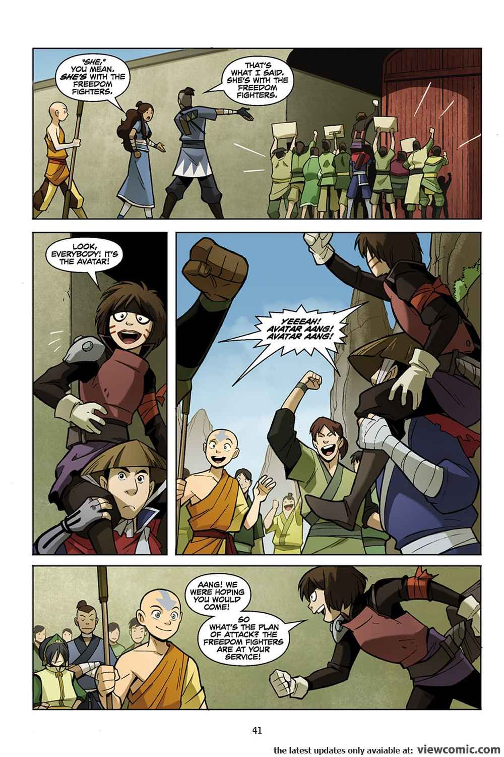 Avatar The Last Airbender The Promise Part 1 2012 Reading Comics Online For Free Avatar The Last Airbender The Last Airbender The Last Avatar