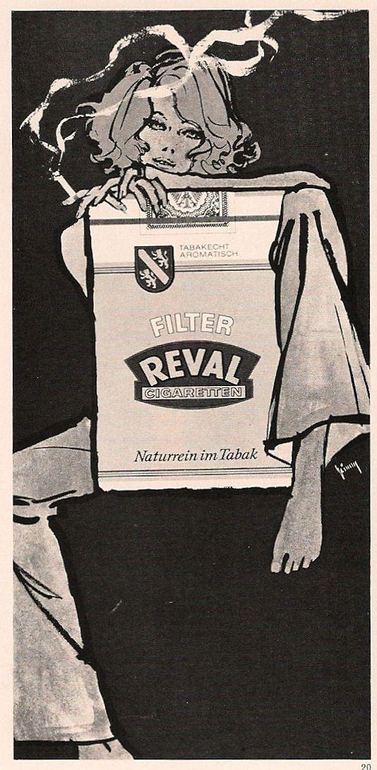 Gert Grimm / 1960's Illustration for Reval Cigarettes | 60 ...