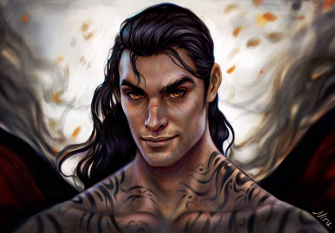 Cassian From A Court Of Thorns And Roses Series By Therealsjmaas