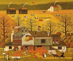 """Liberty Star Farms CalendarPage Approximately 12 1/2"""" x 10 1/2"""" Cut out from a vintage calendar. Please note: Calendar Page Prints are actually pages from our"""