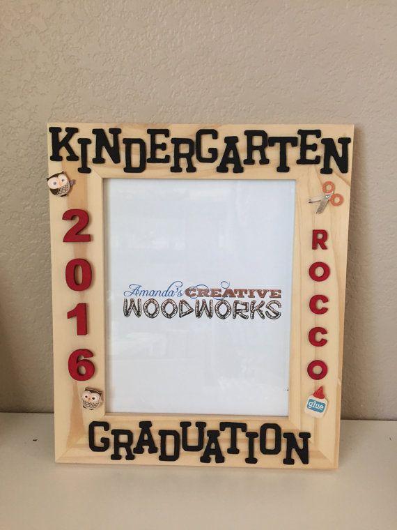Kindergarten Graduation Frame 8x10 www.etsy.com/shop ...