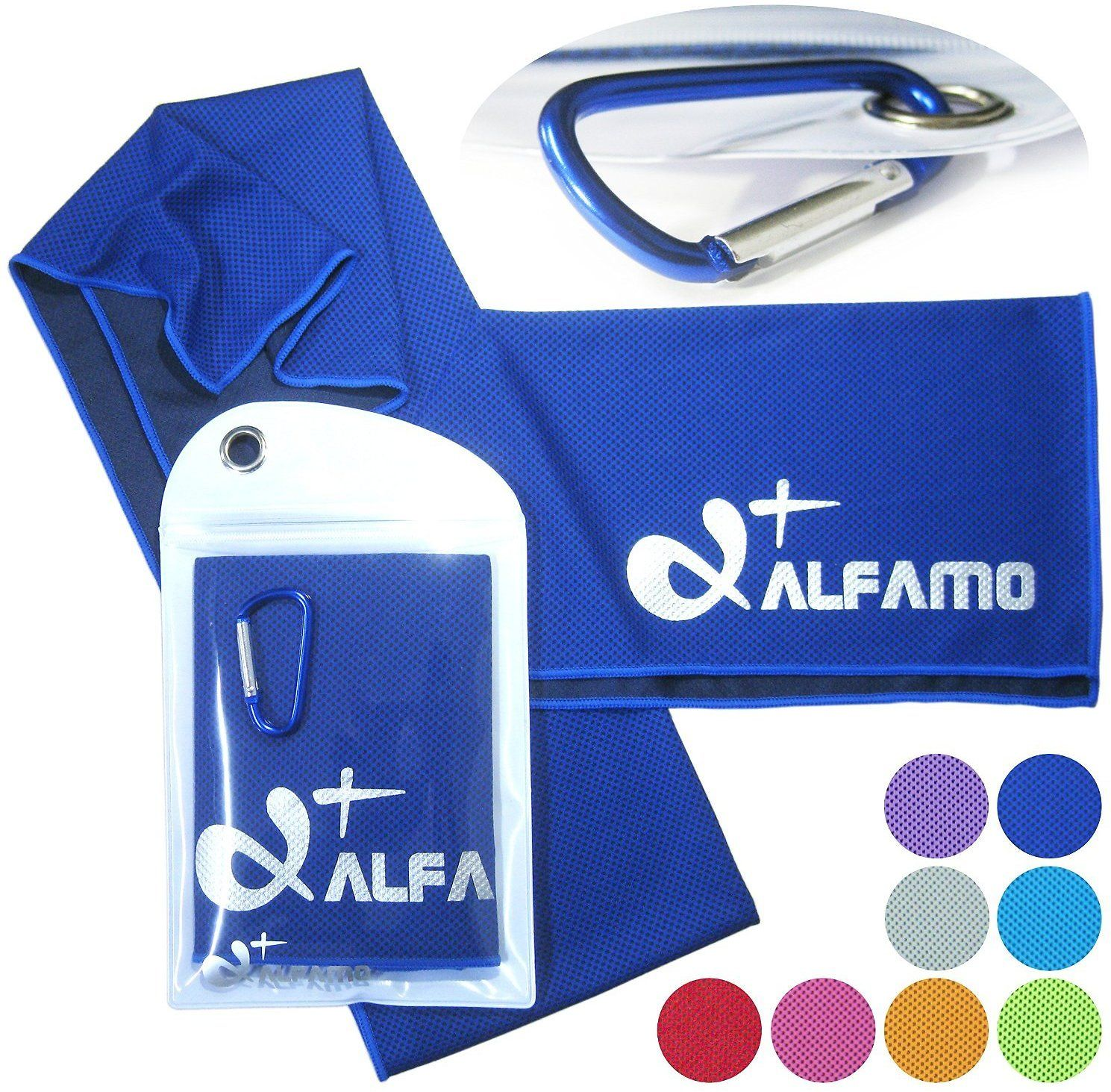 Alfamo Cooling Towels For Sports Fitness Gym Yoga 40 Inch