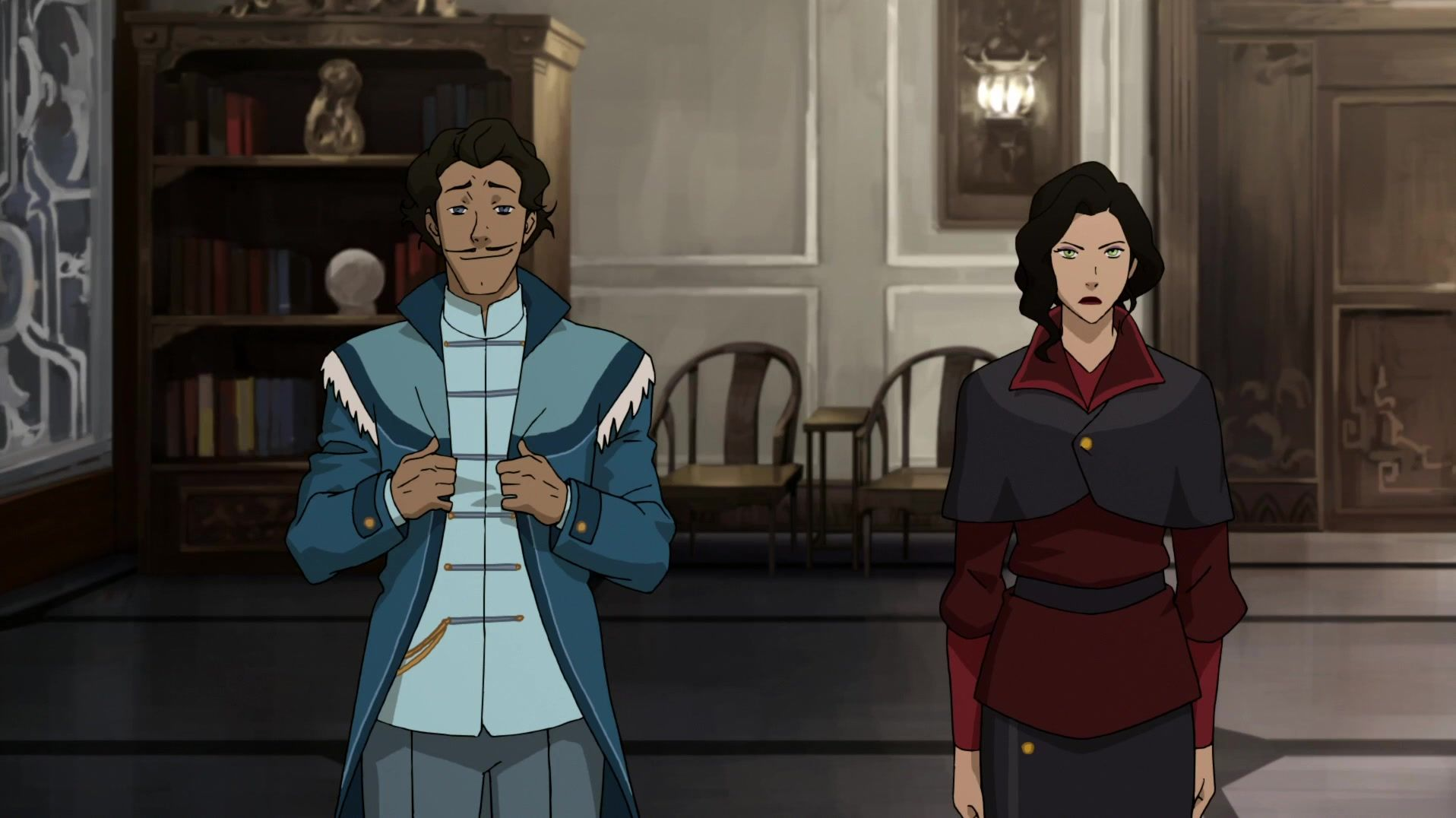 Book 4 Asami And Varrick Die Legende Von Korra