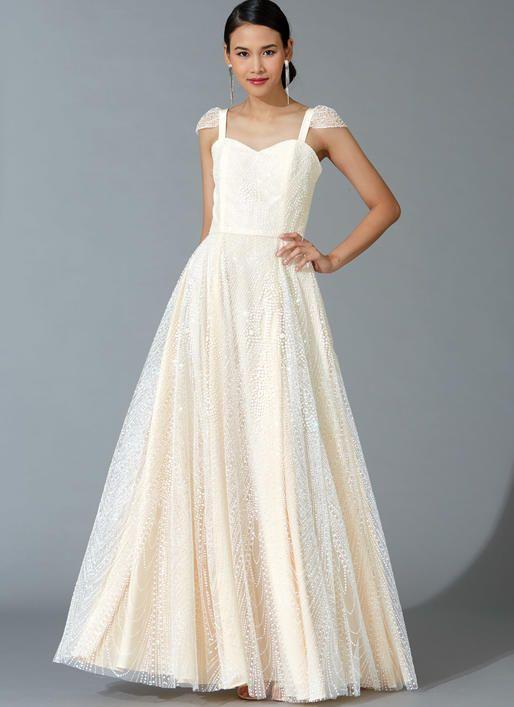 McCall\'s M7718 Misses\' Dresses #sewingpattern | Dress Patterns ...
