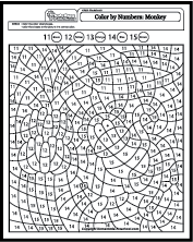Color by Number Coloring Pages (With images) Coloring