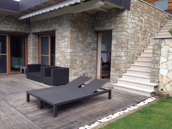 Ferienhaus Malcesine mit Kamin für bis zu 4 Personen