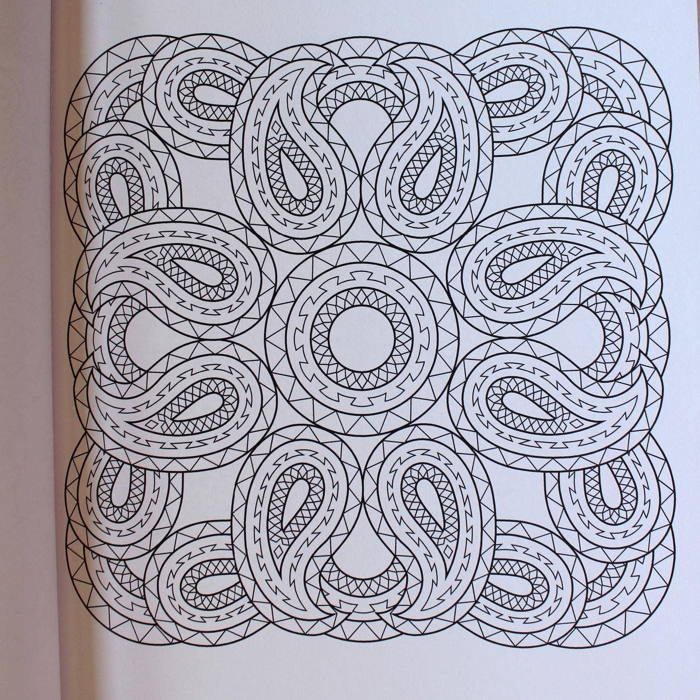Mandala coloring pages amazon - Creative Haven Paisley Mandalas Coloring Book Creative Haven Coloring Books Shala Kerrigan