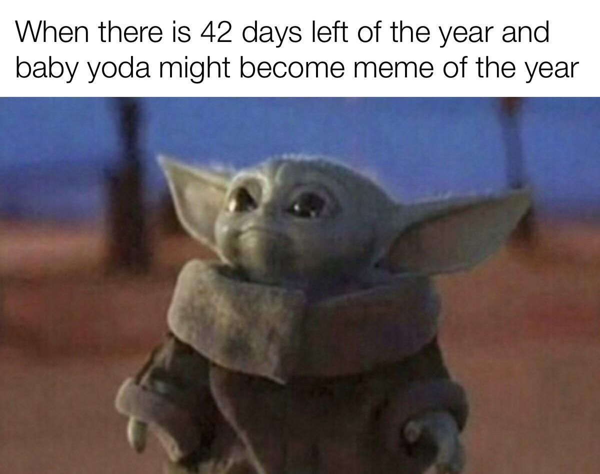 Baby Yoda For The Win Posted By U Mr Rejected15 Yoda Meme