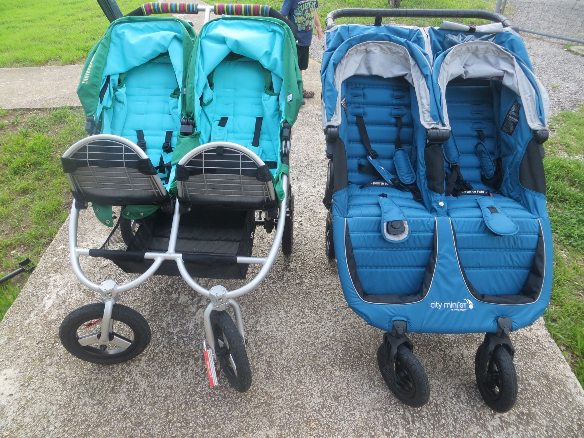 Review Baby Jogger City Mini Gt Double Vs Bumbleride Indie Twin