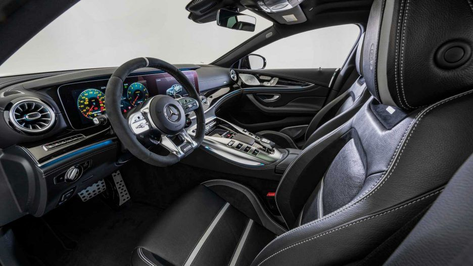 Brabus 800 Mercedes Amg Gt 63 S Interior Front Cabin Mercedes