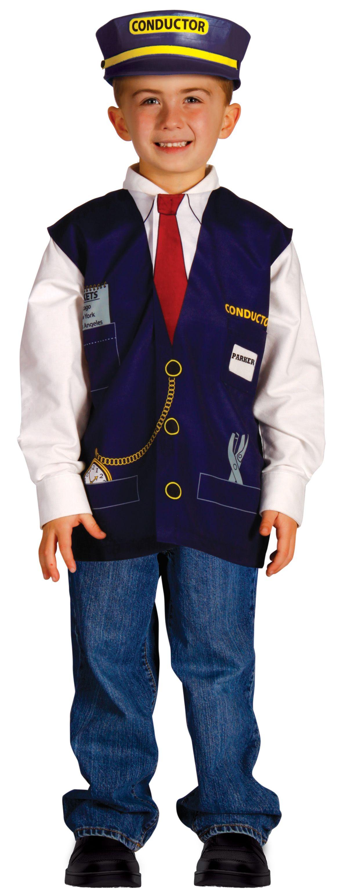 My First Career Gear Train Conductor Sc 1 St Pinterest  sc 1 st  Germanpascual.Com & Kids Train Conductor Costume u0026 We ... Sc 1 St Jen Spends Less