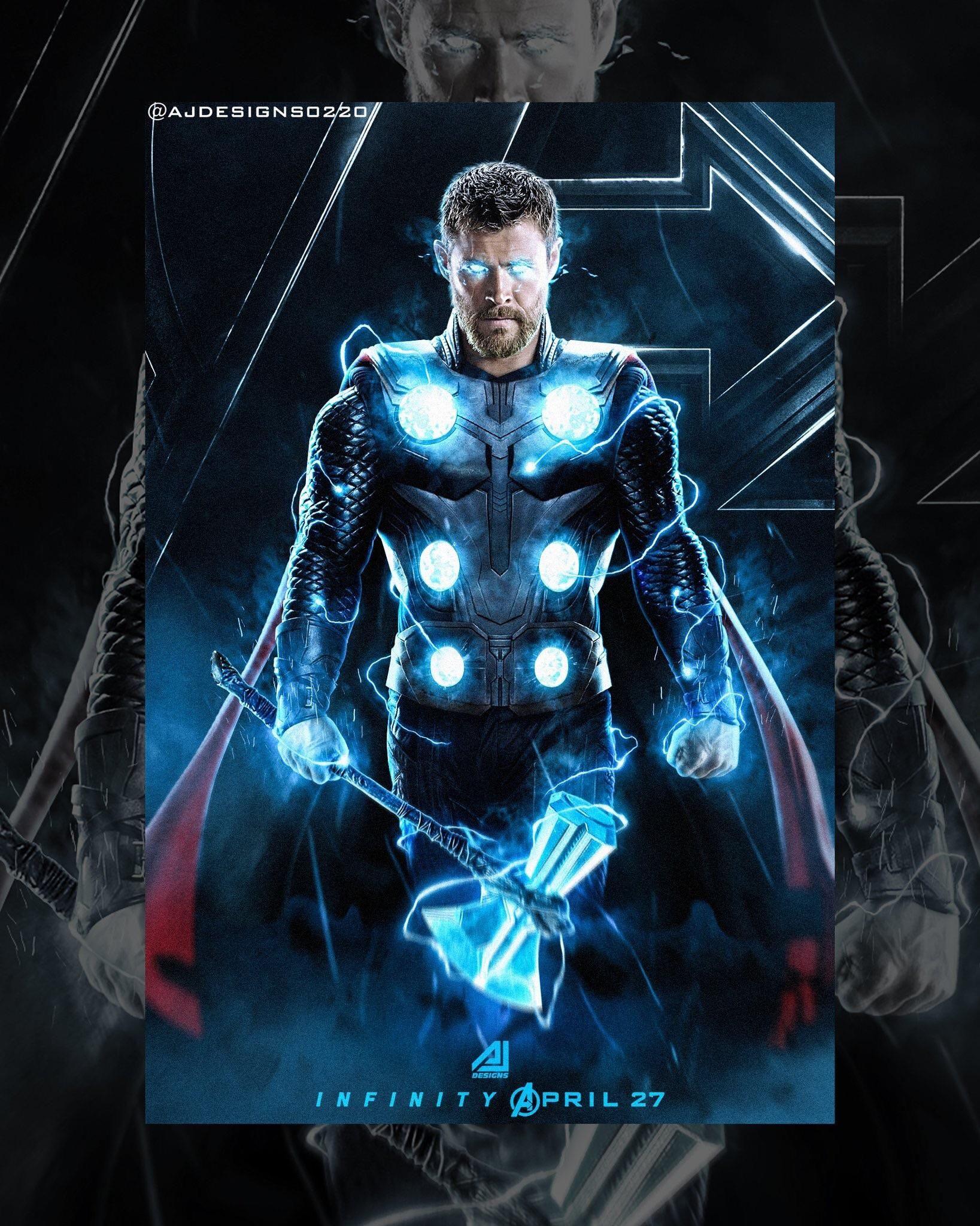 Thor Fan art! Marvel thor, Marvel cinematic, Thor