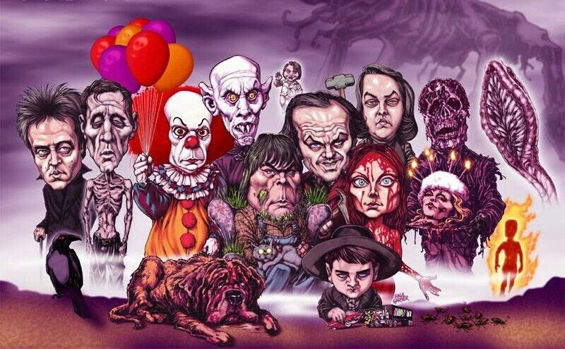 Pin by Jeff Osco on the gangs all here Stephen king