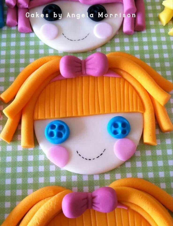 Lalaloopsies cupcake toppers